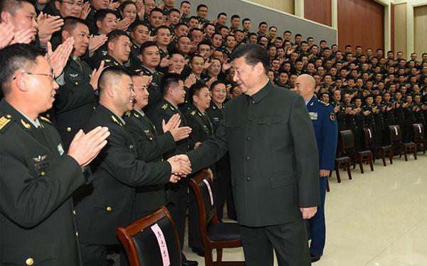 President Xi stresses army restructuring to enhance combat readiness