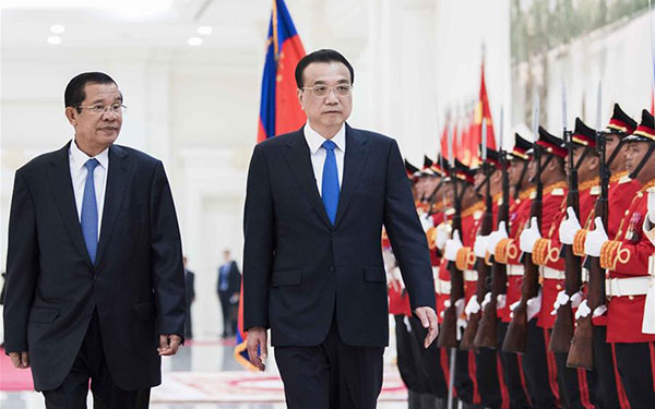Premier Li vows to build community of shared future with Cambodia