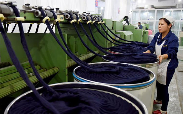 Cashmere trade center connects to the world via Belt and Road