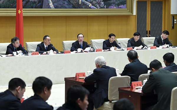 Huang Kunming calls for increasing fight against illegal publications