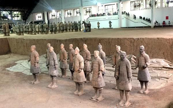 125 sets of Shaanxi cultural relics to be exhibited in the UK