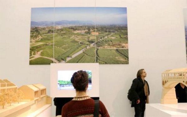 China story of countryside architecture design showcased in Germany