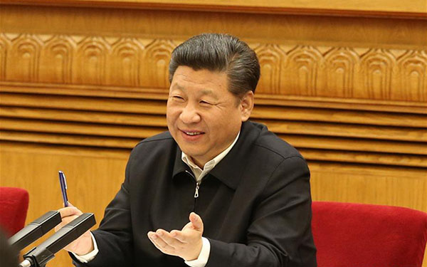 Xi leads China in building cyperspace strength
