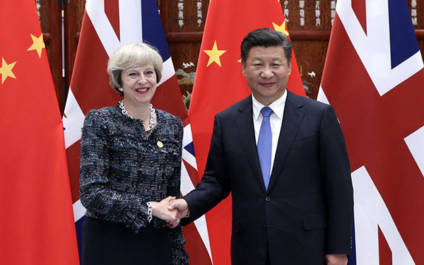 China, Britain agree to further promote golden era of bilateral tie