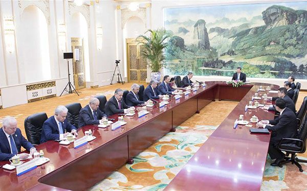 Xi expects SCO Qingdao summit to be a success