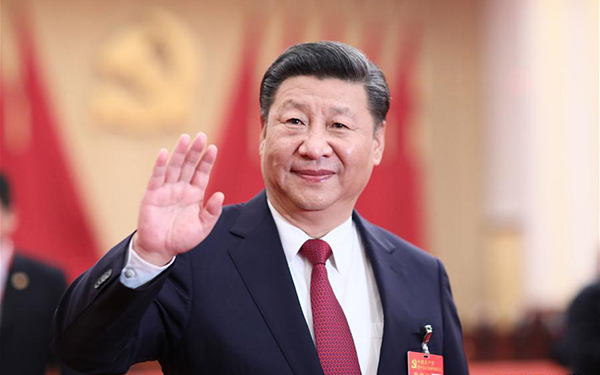 Xi asks central, state organs to uphold central leadership