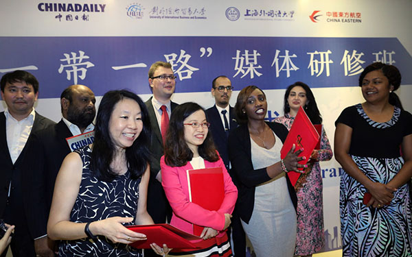 Journalists from Belt and Road countries learn about China