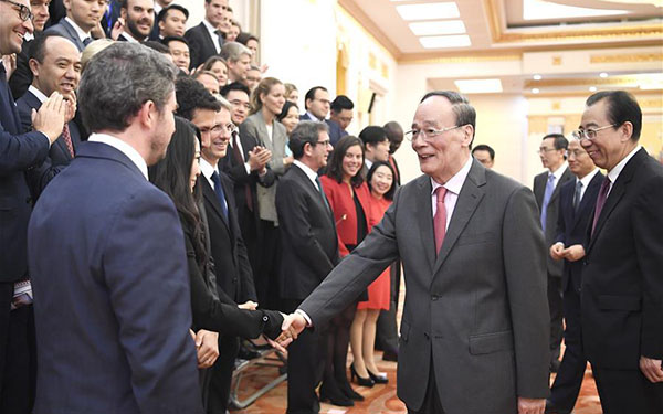 Young leaders urged to work for dynamic China-France relations