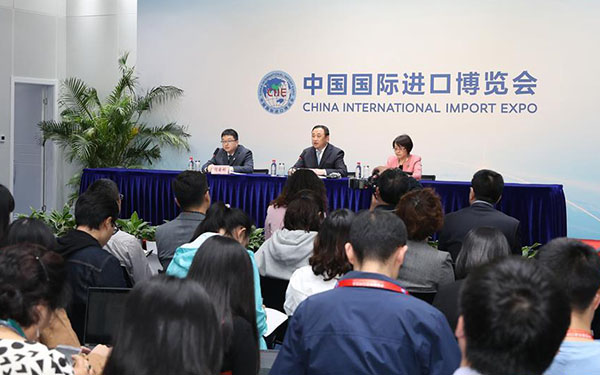 US$57.83 bln intended deals reached at China's first import expo