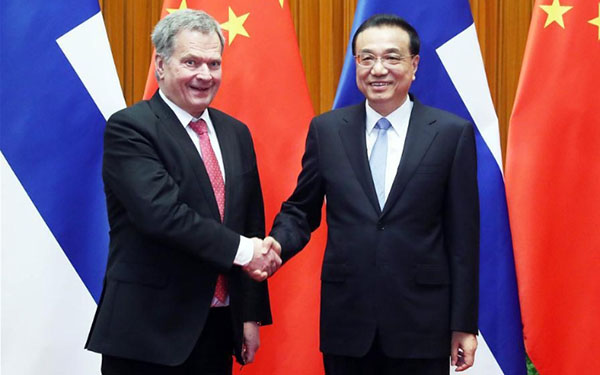 China can provide broad business opportunities for Finland